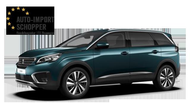 Peugeot 5008 Allure, Auto-Import Schopper EU-Neuwagen Konfigurator