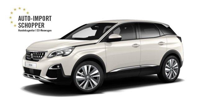 Peugeot 3008, Auto-Import Schopper EU-Neuwagen Konfigurator