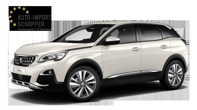 Peugeot 3008 Allure, Auto-Import Schopper EU-Neuwagen Konfigurator