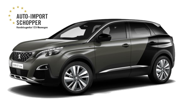 Peugeot 3008 GT, Auto-Import Schopper EU-Neuwagen Konfigurator