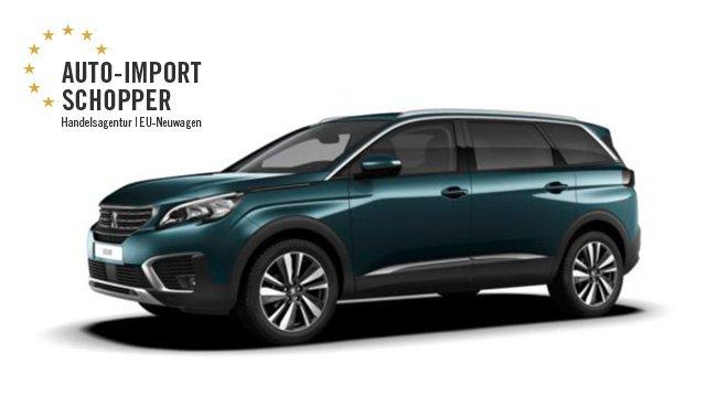 Peugeot 5008, Auto-Import Schopper EU-Neuwagen Konfigurator