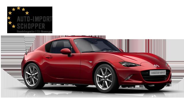 Mazda MX-5 RF Revolution Top, Auto-Import Schopper EU-Neuwagen Konfigurator