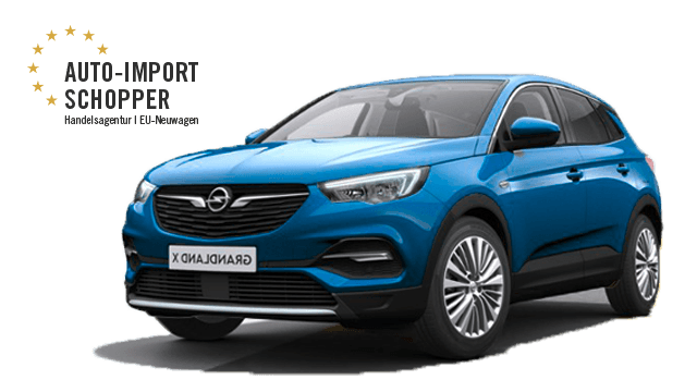 opel grandland x 21 rabatt auto import schopper. Black Bedroom Furniture Sets. Home Design Ideas