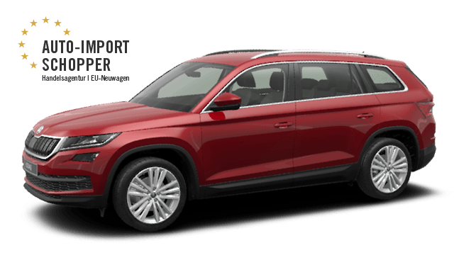 skoda kodiaq 25 rabatt auto import schopper. Black Bedroom Furniture Sets. Home Design Ideas
