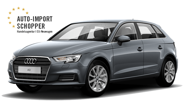 audi a3 sportback 22 rabatt eu neuwagen zum bestpreis. Black Bedroom Furniture Sets. Home Design Ideas